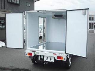 東プレ製 冷蔵冷凍車 中温