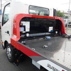 【特選車】日野 デュトロ 極東製・3t積載車・フラトップゼロII・VSC・PCS付